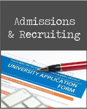 Admissions & Recruiting icon