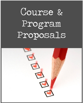 Course & Program Proposals