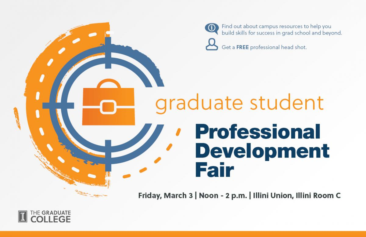 graduate college events the graduate college at the university join us for the inaugural professional development fair for graduate students come learn about services and resources designed to help you succeed during