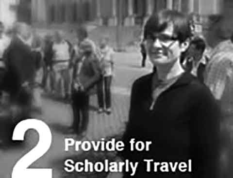 Provide for Scholarly Travel
