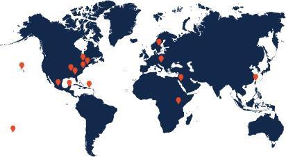 World Map Travel Grant Award Winners