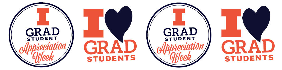 Graduate Student Appreciation Week graphic