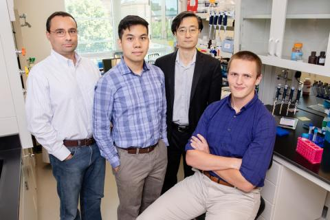 Illinois researchers adapted CRISPR gene-editing technology to help a cell skip over mutated portions of genes.