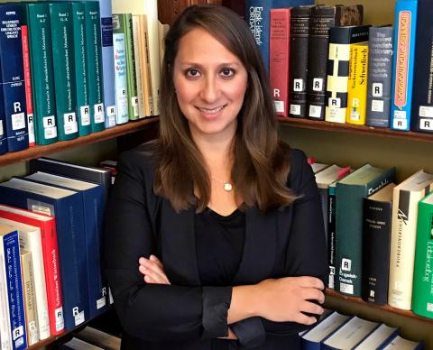 2020 Graduate Student Leadership Award winner Saniya Ghanoui