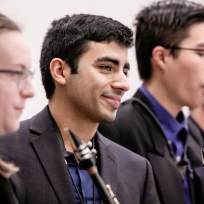 Gabriel Lamar Pique founded the University of Illinois Saxophone Ensemble.