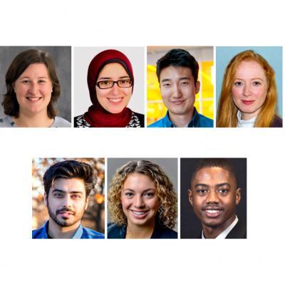 Seven Beckman Graduate Fellows